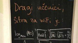 Profesorka je dala đacima zadatak koji otkriva šifru za školski WiFi, ali postoji caka!