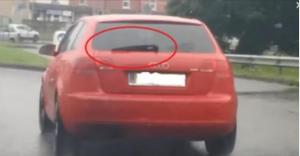 HIT VIDEO: Pogledajte kako radi zadnji brisač na ovom Audiju