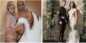 Top 10 najgorih venčanica svih vremena! Broj 3 I 7 ćete posmatrati u neverici!