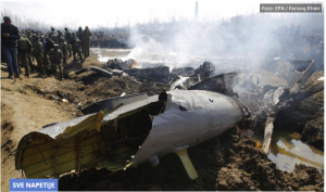 RAT U AZIJI?! BRUTALNA ODMAZDA INDIJE: Oboren pakistanski vojni avion! KLJUČA SUKOB! (VIDEO)